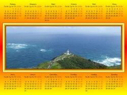 Яркие календари в современном стиле