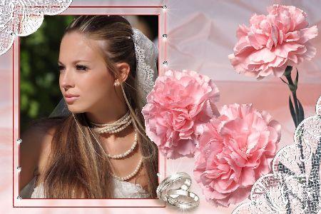 Шаблоны свадебных открыток и рамок