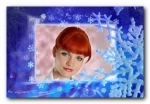 Шаблоны зимних открыток